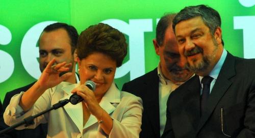 """Em primeiro discurso, Dilma agradece Lula e diz que """"baterá à sua porta"""""""