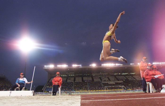 Maurren Maggi, atletismo