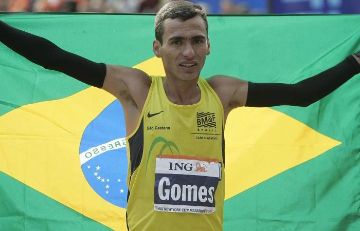 Marílson Gomes dos Santos, atletismo