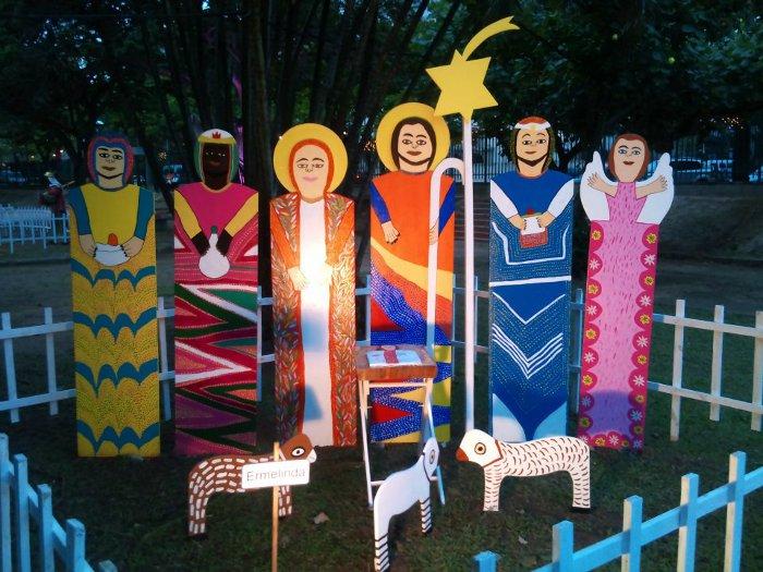 Até o próximo dia 25, o Rio de Janeiro exibe, no Jardim de Alah, na zona sul, um grande festival de presépios