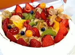 Edu Guedes: delicioso merengue com frutas