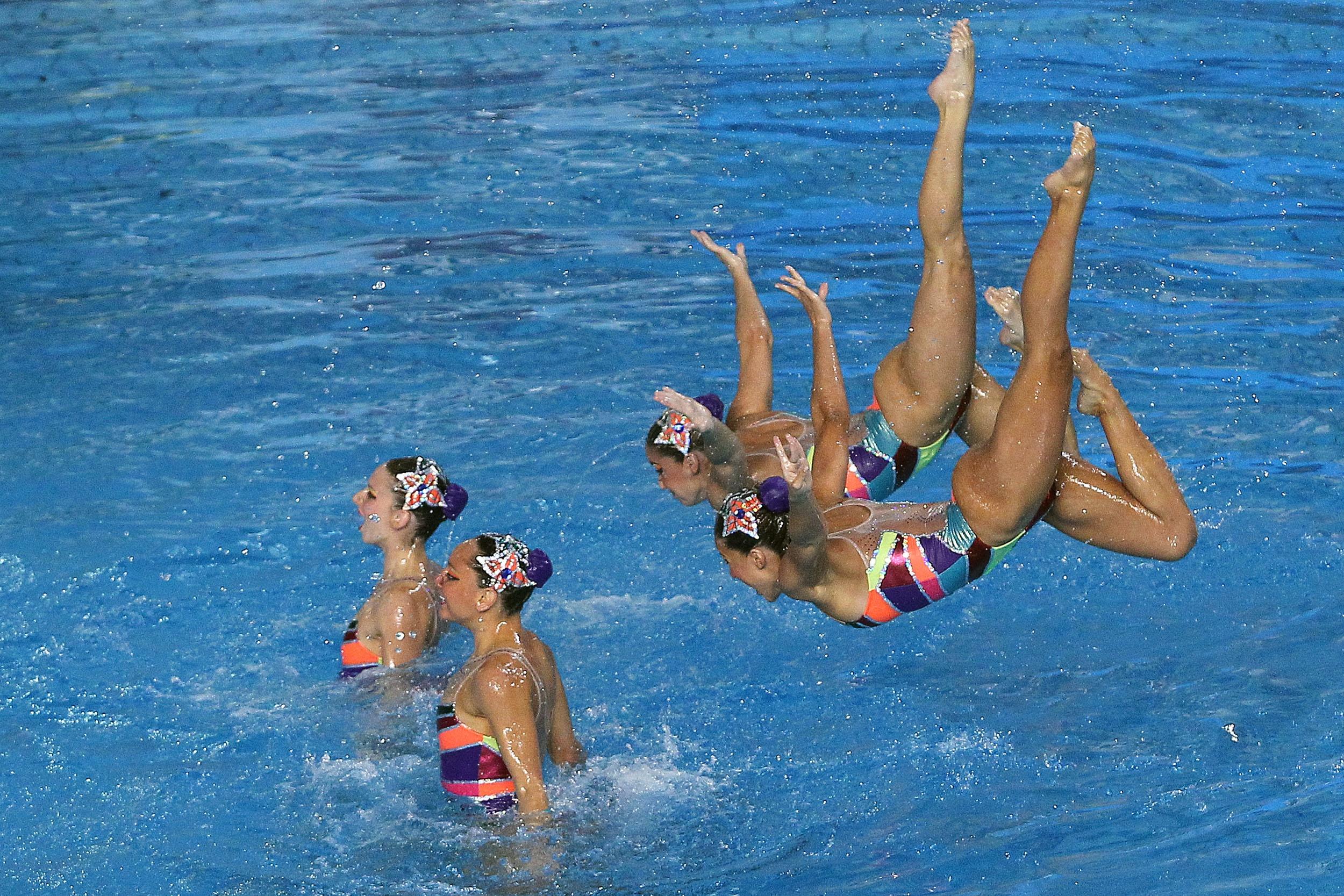 Equipe (BRA), nado sincronizado