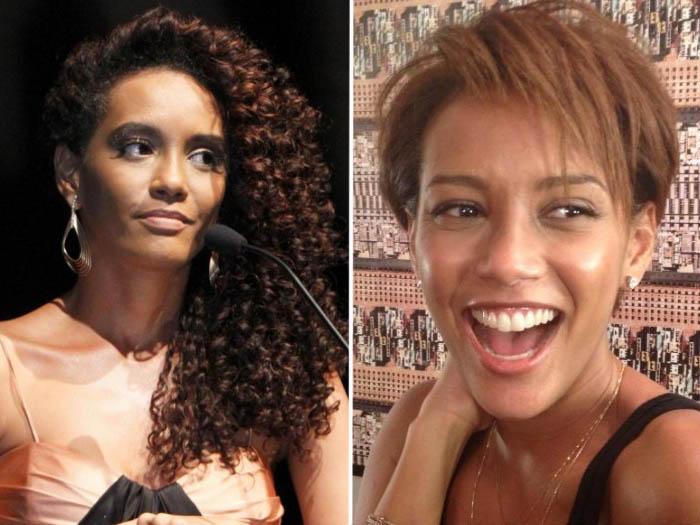 <p>Recentemente, a bela Taís Araújo deu adeus ao look de Penha, empreguete de <em>Cheias de Charme </em>(Globo), passando a tesoura no cabelão. Que ousadia!</p>