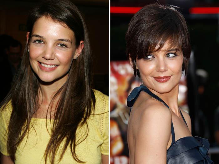 <p>Katie Holmes deixou de ser a Joey de <em>Dawson's Creek</em> definitivamente quando apareceu com um curtinho sexy e ousado</p>