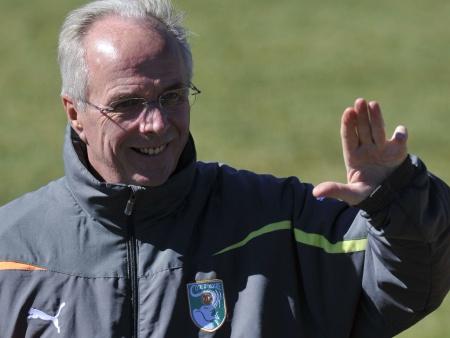 Eriksson poderá assumir comando da seleção da Argélia