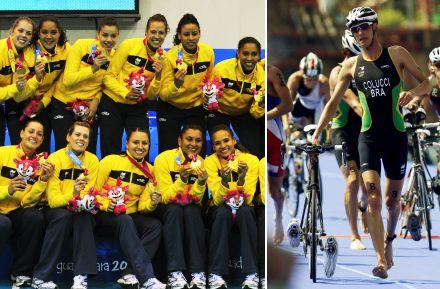 Handebol feminino e triatlo, entre outros, ganharam vaga olímpica no Pan