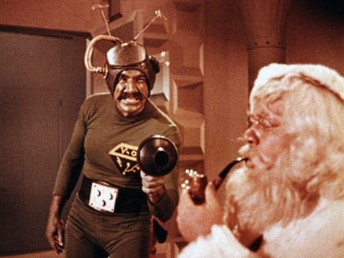 <p><strong>3º lugar -</strong> <em>Papai Noel Conquista os Marcianos</em> (1964) é uma ficção científica, considerada um dos piores filmes já feitos sobre o Natal</p>