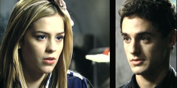 Fora do jogo: Miguel e Alice se beijam