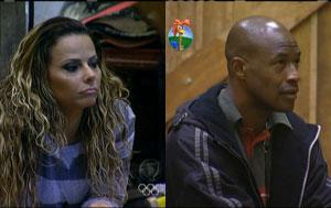 Lui Mendes e Viviane Araujo dizem por que não devem ser eliminados