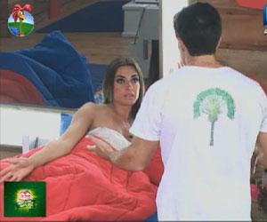 Felipe e Nicole brigam feio e se desafiam após votação