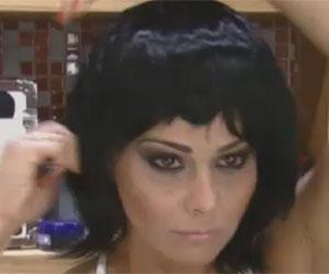 Viviane veste peruca preta