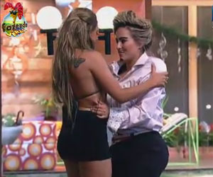 Ísis e Manoella formam casal caliente - A Fazenda de Verão - Rede ...