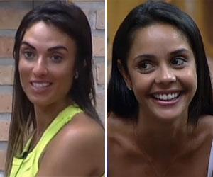 Flávia e Nicole