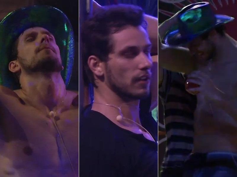 BBB13: Eliéser ataca de gogo boy na Festa Dance