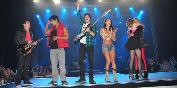 Quem é você na banda de <i>Rebelde</i>?