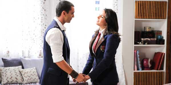 Binho confessa que está apaixonado por Pilar