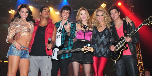 Banda Rebeldes se apresenta em São Paulo no dia 9 de junho