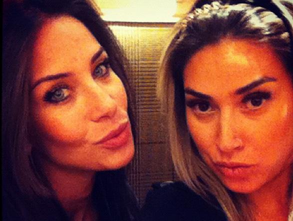 Lizi Benites e Dani Bolina são as musas do Tudo é Possível. Elas são lembradas pelo carisma, a beleza e também por terem várias tatuagens