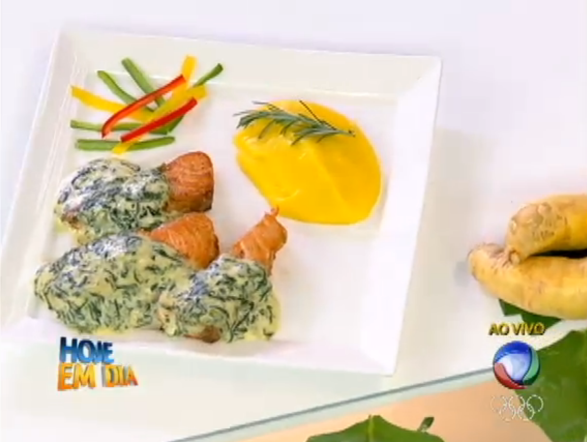 A etapa mais recente de A Chef do Bairro aconteceu em Porto Alegre. A  vencedora Rita Dias preparo