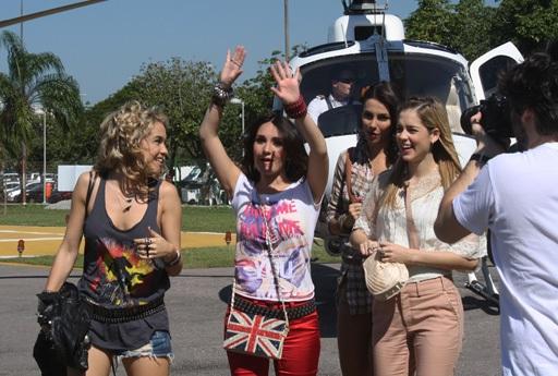 Dulce promete mostrar aos rebeldes, e ao Brasil, claro, toda sua música e energia
