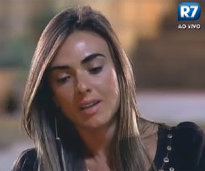 Nicole Bahls lembra com carinho da visita de Theo Becker: &quot;Ele me deu fora&quot;