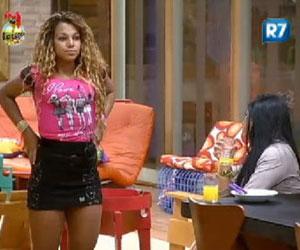 Participantes comparam Karine com Viviane Araujo e Beyoncé