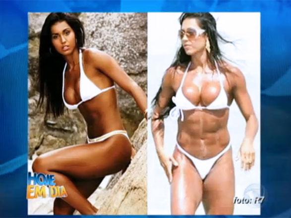 Para atingir o corpo perfeito, muitos famosos acabam optando pelo uso de anabolizantes. Os resultados podem ser satisfatórios, mas, os efeitos colaterais podem ser perigoso! O Hoje em Dia mostro