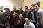 Farra no Camarim! Zezé Di Camargo e Luciano recebem visita de famosos nos bastidores. Veja!