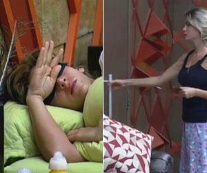 Bárbara acorda Denise para dar triste notícia